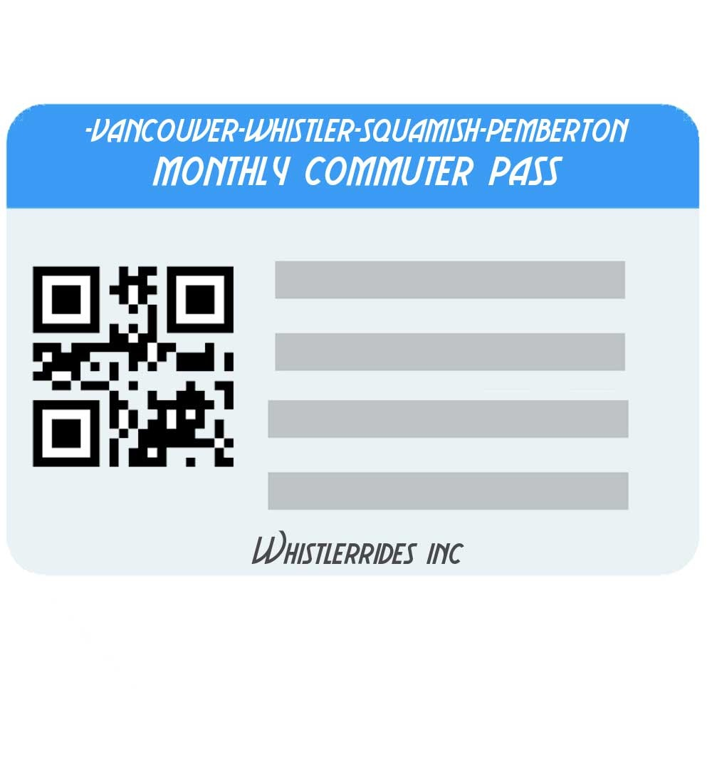 Monthly Commuter Pass
